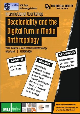 Poster: Decoloniality and the digital turn in Media Anthropology
